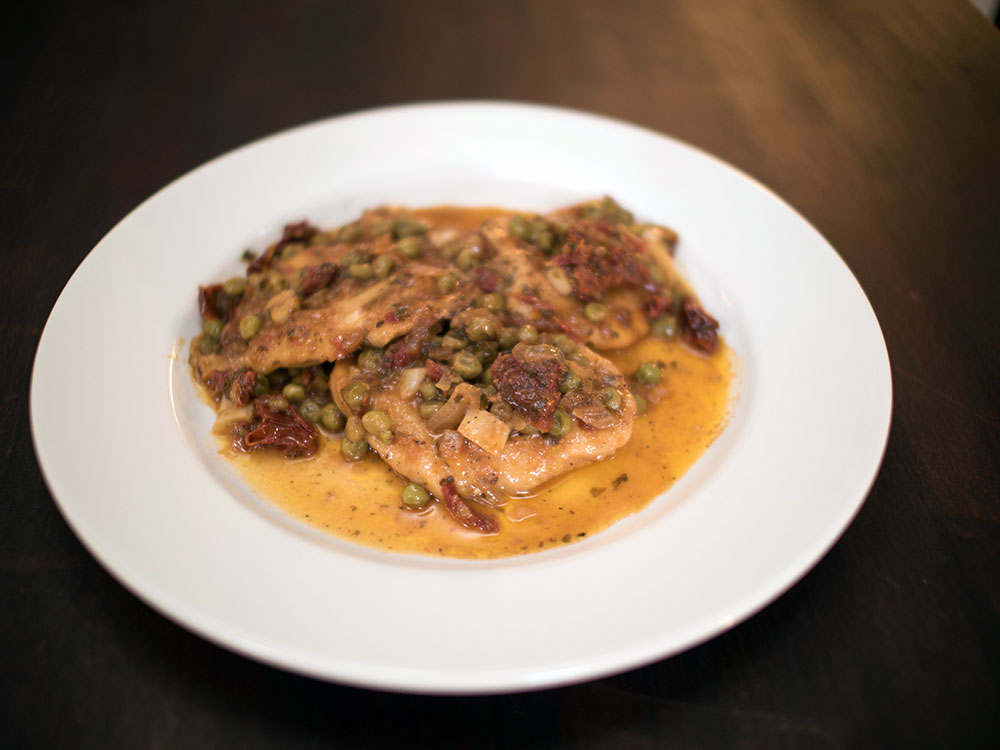 Nick Stellino Chicken Scallopini